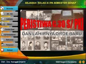 Peristiwa G 330 S PKI dan lahirnya Orba