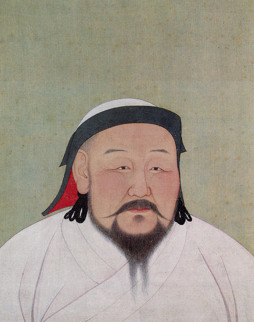 Fig. 1 Khubilai Khan as the First Yuan Emperor, 2